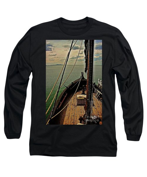 Notorious The Pirate Ship 6 Long Sleeve T-Shirt