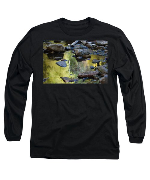 Long Sleeve T-Shirt featuring the photograph Oak Creek Reflection by Tam Ryan