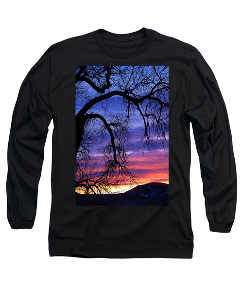 Long Sleeve T-Shirt featuring the photograph Obeisance by Jim Garrison