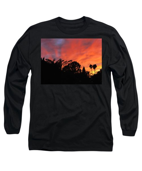 October Sunset 10 Long Sleeve T-Shirt