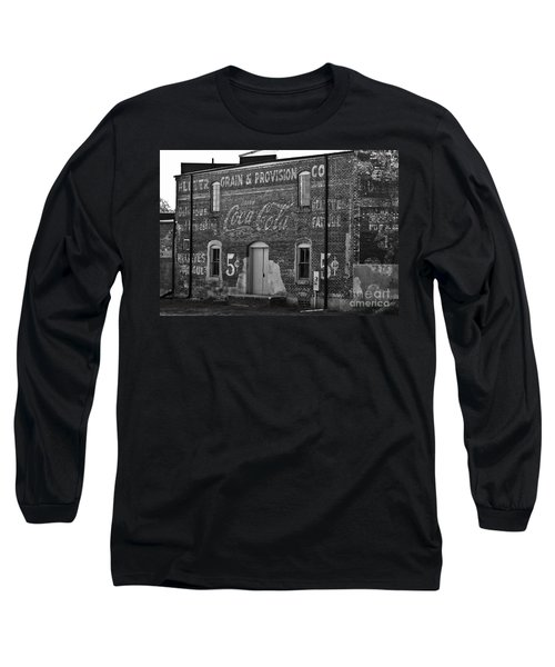 Old Building In Salisbury Nc Long Sleeve T-Shirt by Wilma  Birdwell