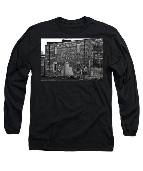 Old Building In Salisbury Nc Long Sleeve T-Shirt