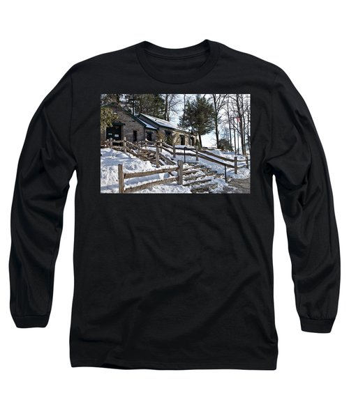 Old Rock Building  Long Sleeve T-Shirt