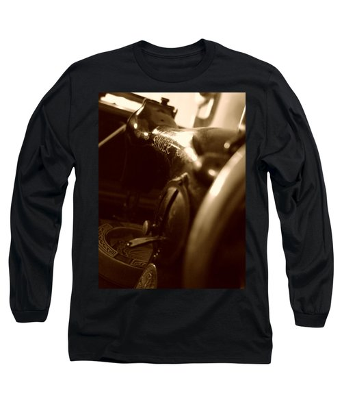Old Singer Long Sleeve T-Shirt