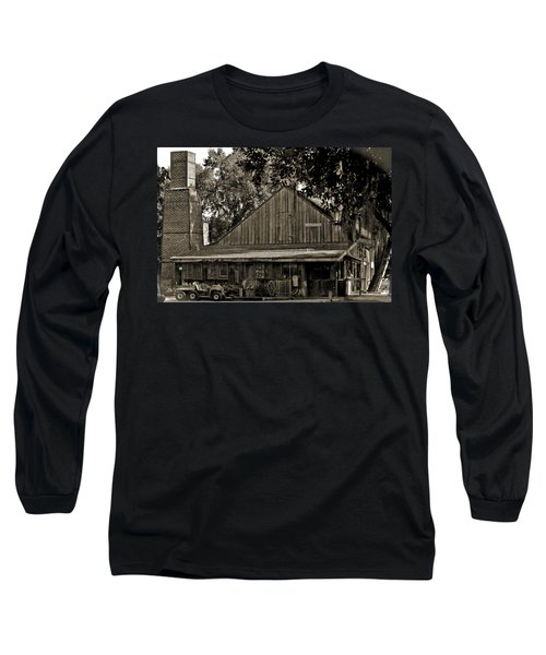 Long Sleeve T-Shirt featuring the photograph Old Spanish Sugar Mill Old Photo by DigiArt Diaries by Vicky B Fuller