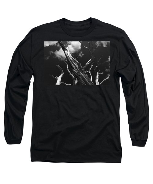 Long Sleeve T-Shirt featuring the photograph Old Tree by David Gleeson