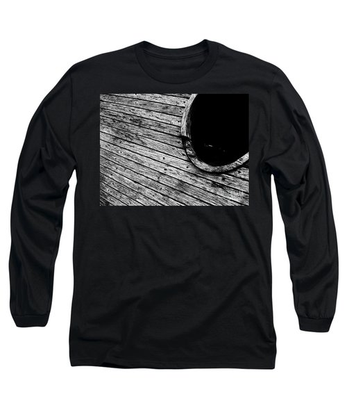 Old Wooden Boat Long Sleeve T-Shirt by Andy Prendy
