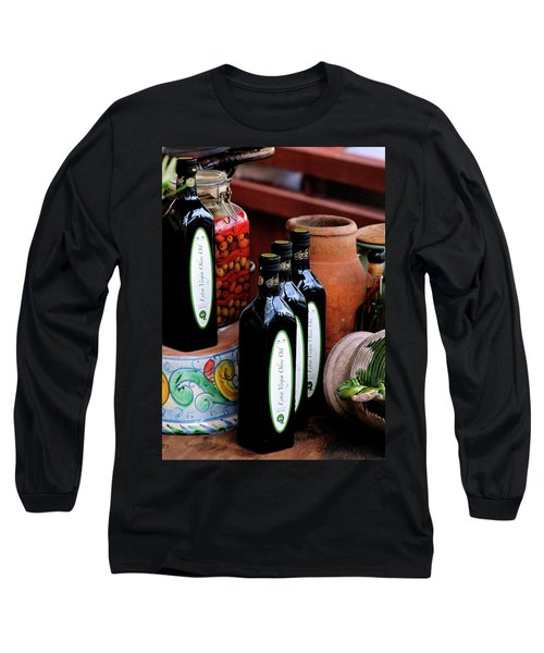 Olives And Olive Oil Long Sleeve T-Shirt