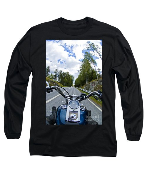 On The Bike Long Sleeve T-Shirt by Micah May