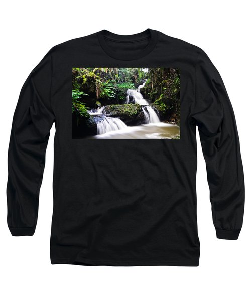 Onomea Falls Long Sleeve T-Shirt