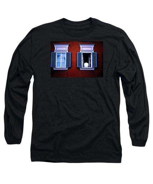 Open Window Long Sleeve T-Shirt