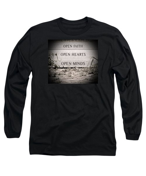 Long Sleeve T-Shirt featuring the photograph Openings by Jean Haynes