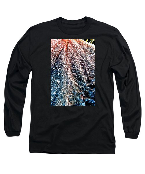 Long Sleeve T-Shirt featuring the photograph Orange Is Warm And Blue Is Cold by Steve Taylor