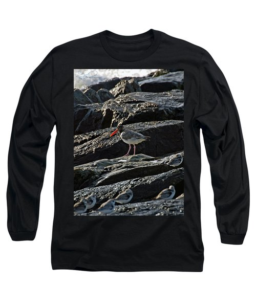 Oyster On The Rocks Long Sleeve T-Shirt