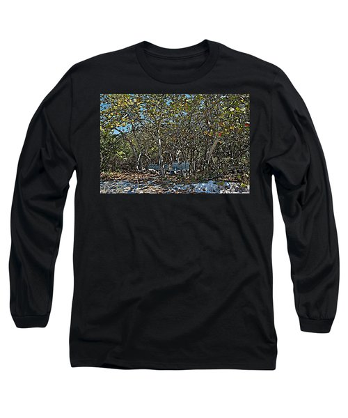 Paint Long Sleeve T-Shirt