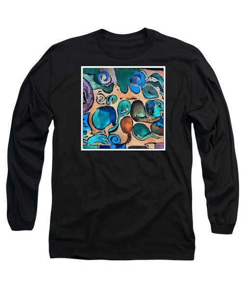 Circles Of Colors.... Long Sleeve T-Shirt