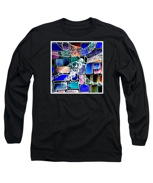 Painting The Old Bricks With Happiness Long Sleeve T-Shirt