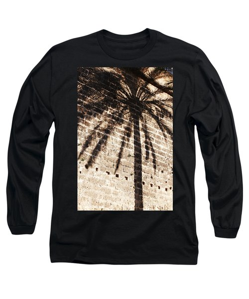 Palm Shadow Long Sleeve T-Shirt