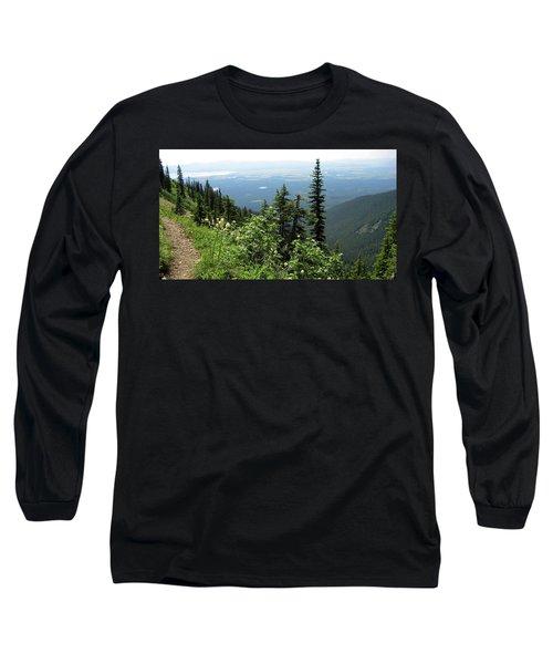 Panoramic Jewel Basin Montana Long Sleeve T-Shirt