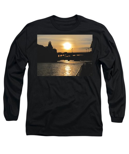 Parisian Sunset Long Sleeve T-Shirt