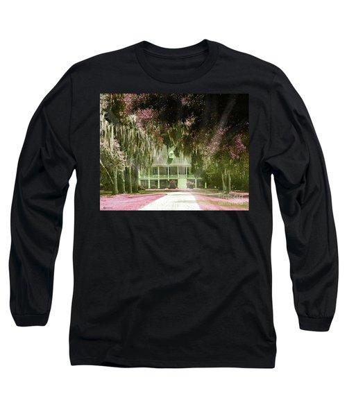 Parlange Plantation Circa 1750 New Roads La Long Sleeve T-Shirt by Lizi Beard-Ward