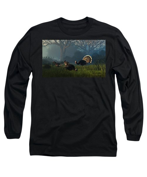 Party Of Four Long Sleeve T-Shirt