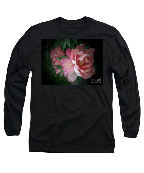 Peonies No. 8 Long Sleeve T-Shirt