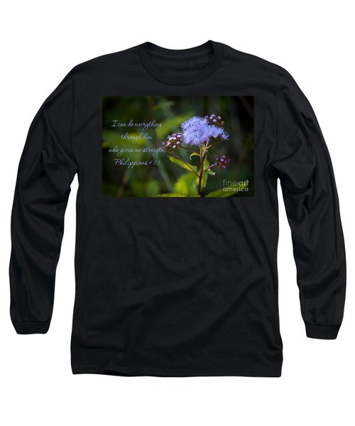 Philippians Verse Long Sleeve T-Shirt