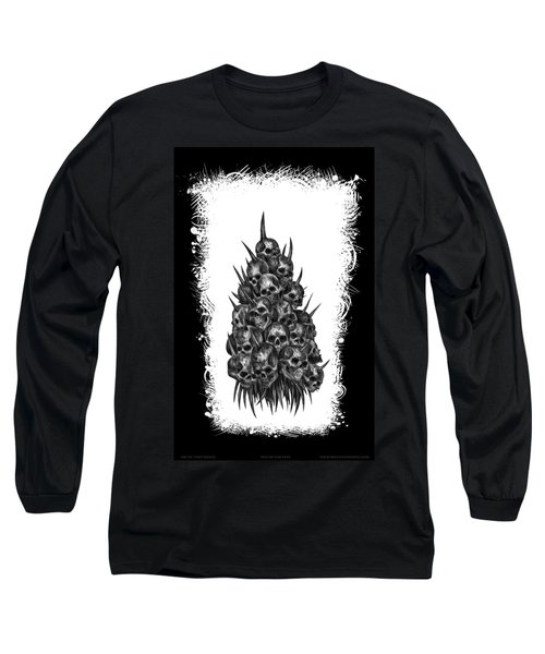 Pile Of Skulls Long Sleeve T-Shirt