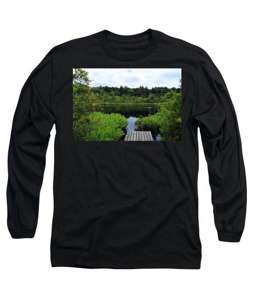 Pine Hole Pond Long Sleeve T-Shirt
