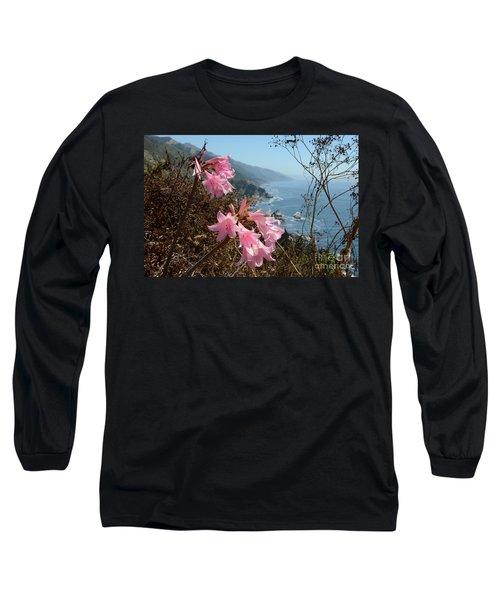 Pink Amaryllis Long Sleeve T-Shirt