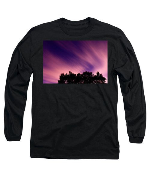 Pink Clouds Long Sleeve T-Shirt