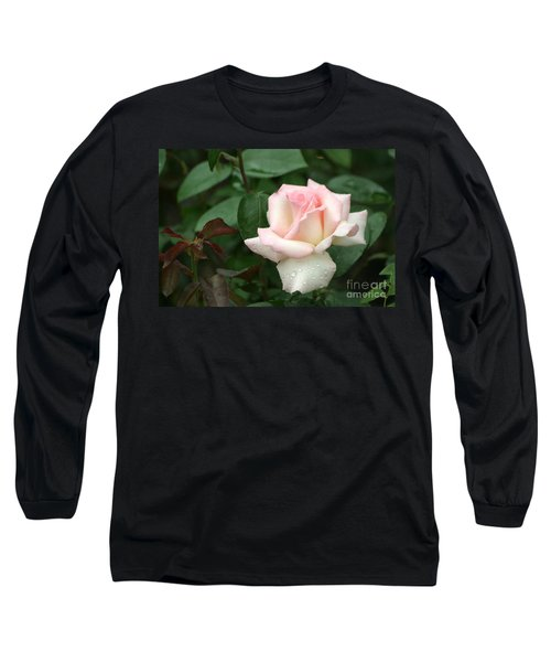 Pink Promise Long Sleeve T-Shirt by Living Color Photography Lorraine Lynch