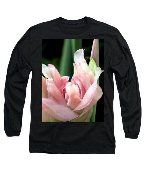 Pink Torch Ginger Long Sleeve T-Shirt