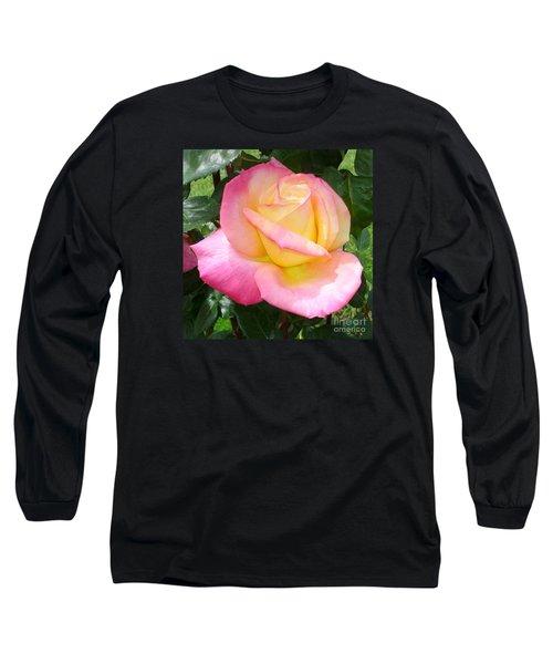 Pink Yellow Beauty Long Sleeve T-Shirt
