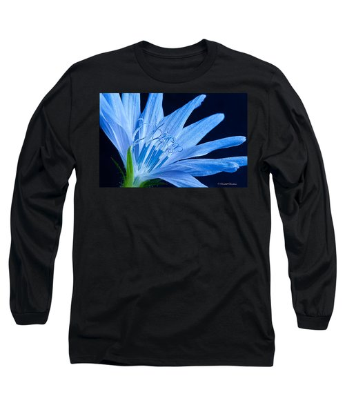 Long Sleeve T-Shirt featuring the photograph Pistil's Of Chicory by Randall Branham