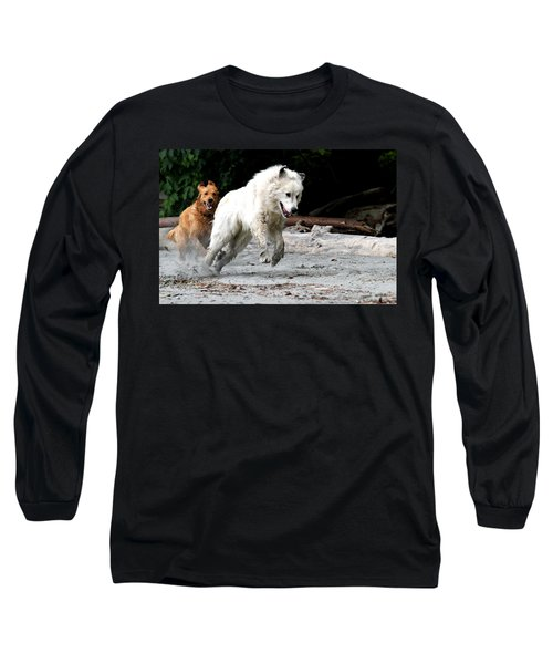 Play Time On The Beach Long Sleeve T-Shirt