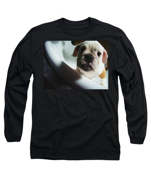Long Sleeve T-Shirt featuring the photograph Plea For Help by Jeanette C Landstrom