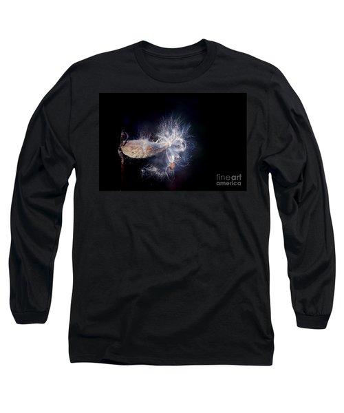 Long Sleeve T-Shirt featuring the photograph Pod In The Wind by Deniece Platt