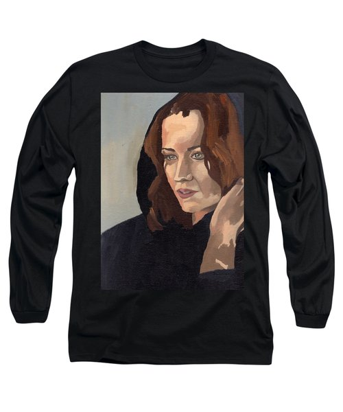 Portrait Of Becca 2 Long Sleeve T-Shirt