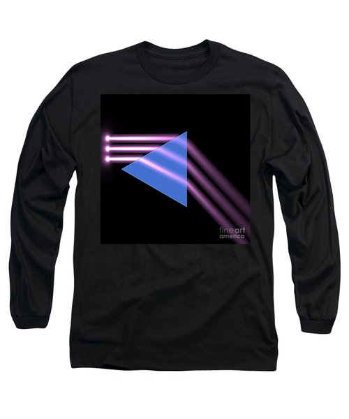 Long Sleeve T-Shirt featuring the digital art Prism 1 by Russell Kightley
