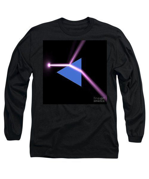 Long Sleeve T-Shirt featuring the digital art Prism 3 by Russell Kightley