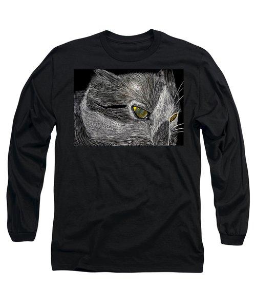 Prowl Long Sleeve T-Shirt by Lisa Brandel