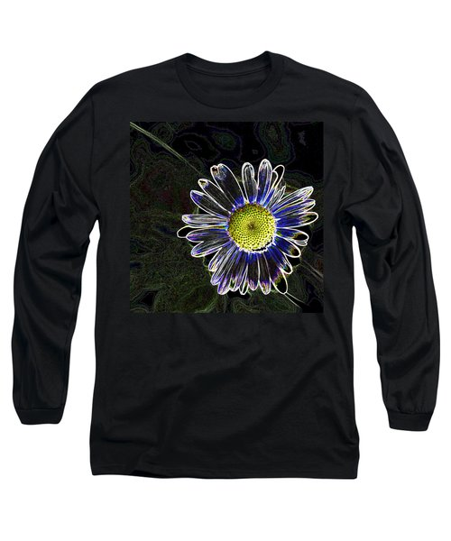 Psychedelic Daisy Long Sleeve T-Shirt