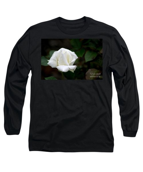 Pure As Snow Long Sleeve T-Shirt by Living Color Photography Lorraine Lynch