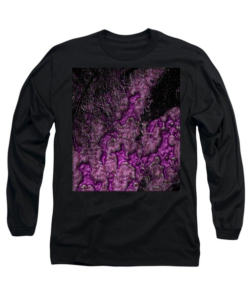 Purple Burning Long Sleeve T-Shirt