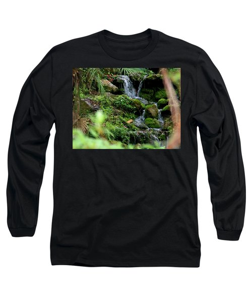 Rainbow Springs Waterfall Long Sleeve T-Shirt