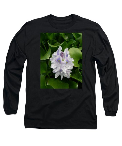 Long Sleeve T-Shirt featuring the digital art Rare Hawain Water Lilly by Claude McCoy