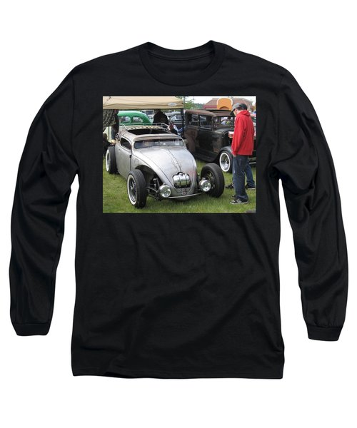 Long Sleeve T-Shirt featuring the photograph Rat Rod Many Parts by Kym Backland