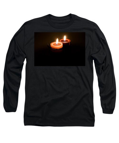 Red Candles Long Sleeve T-Shirt
